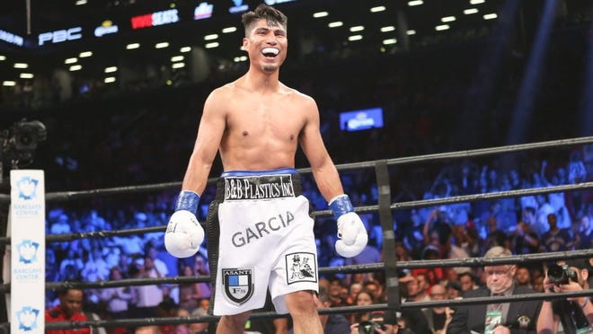 Pacifica High graduate Mikey Garcia will fight Adrien Broner on July 29.