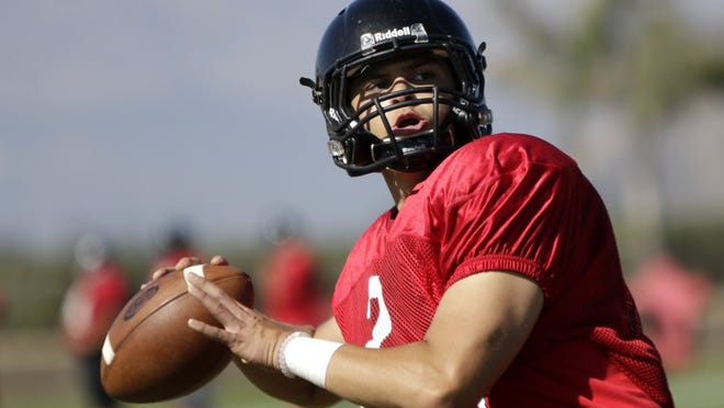 Austin Maciel is expected to have a big senior season running the show for the Rio Mesa High offense.