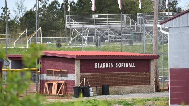 The Bearden High School Lady Bulldogs Softball field is pictured Thursday, April 7, 2016. A training facility on the property built by a booster club had large cost overruns and depleted the club's account, according to an audit report from the Tennessee Comptroller of the Treasury.(MICHAEL PATRICK/NEWS SENTINEL)