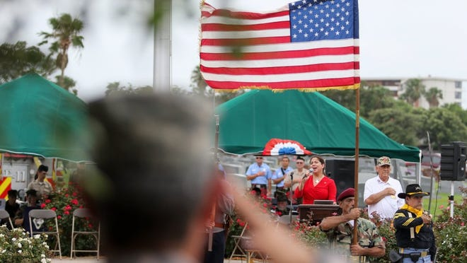 Caller-Times file Seaside Memorial Park and Funeral Home will host its annual Memorial Day Celebration at 1 p.m. Monday.