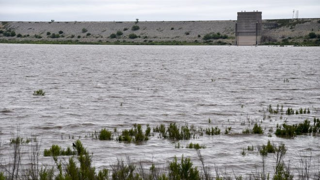 O.C. Fisher Reservoir rose 23 vertical feet from catching runoff from the North Concho River after a torrential rainfall in 2015. Boat ramps once useless to the drought-stricken reservoir became accessible once more.