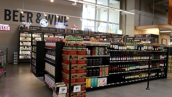 The Martin's Food Market in Waynesboro is now selling beer and wine. TOYA MCCLEARY/THE RECORD HERALD
