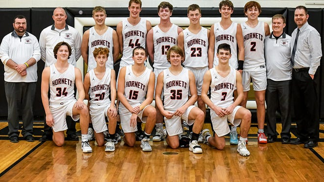 The 2019-20 Chillicothe High School basketball Hornets, seen after winning the championship of the Camerin Invitational Tournament Feb. 1, produced one of the program's best seasons in a quarter-century, going 21-5, finishing second in the Midland Empire Conference and placing second in two tournaments - including district - in addition to the crown they won at Cameron.