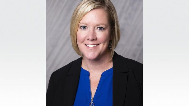 Sarah Symington is Adrian College's new marketing and public relations director.