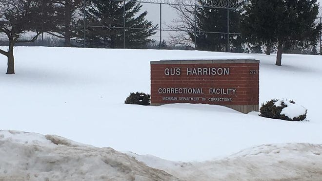 The Gus Harrison Correctional Facility in Madison Township had 416 active cases among its prison population as of Friday.