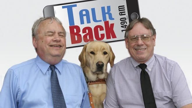 Talk Back with Doug Spade and Mike Clement web logo
