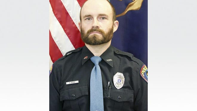 Sgt. Darrin Briggs of the Tecumseh Police Department died Monday in an accident at his home.