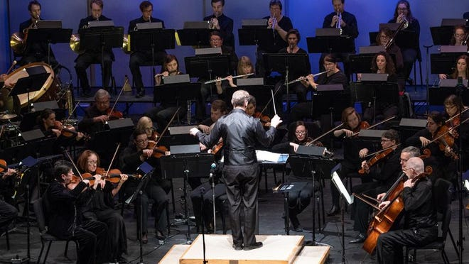 """The Adrian Symphony Orchestra is pictured in this file photo, performing its """"Harry Potter Goes to the Movies"""" concert at Dawson Auditorium on the campus of Adrian College. The ASO was one of seven arts, nonprofit and cultural organizations in Lenawee County that were awarded grant dollars this fall from the Michigan Council for Arts and Cultural Affairs (MCACA). The awarded grants were part of MCACA's statewide response to the coronavirus pandemic, and the effect the pandemic has had on the state's arts, history, performance and cultural institutions."""