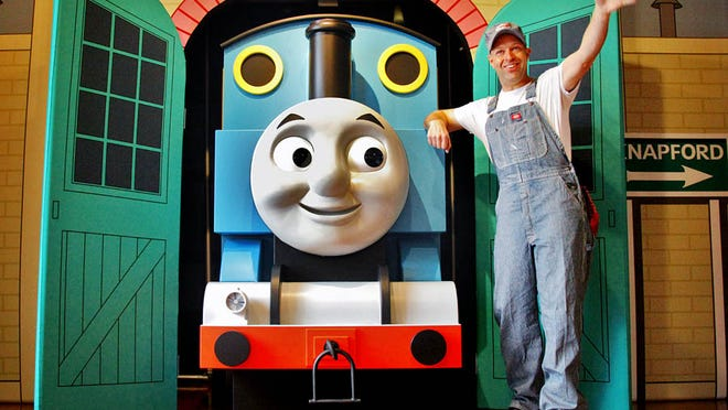 Thomas the Tank Engine will be at the Family Fun Expo on June 1.