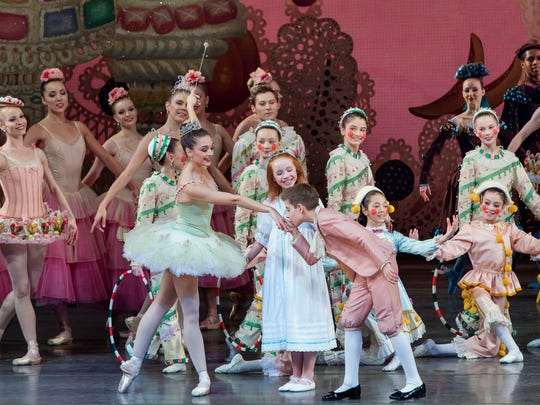 """""""George Balanchine's The Nutcracker"""" at New York City Ballet at Lincoln Center."""