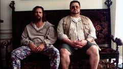 """The Dude, left, in 1998's """"The Big Lebowski"""" knows"""