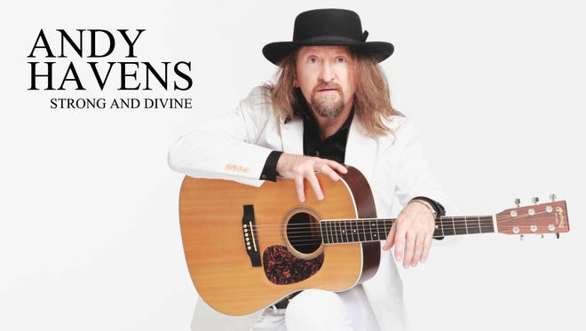 """Album art from """"Andy Havens: Strong and Divine."""" Photo credit: Jeffery Sweet. Design: Sarah Patton"""