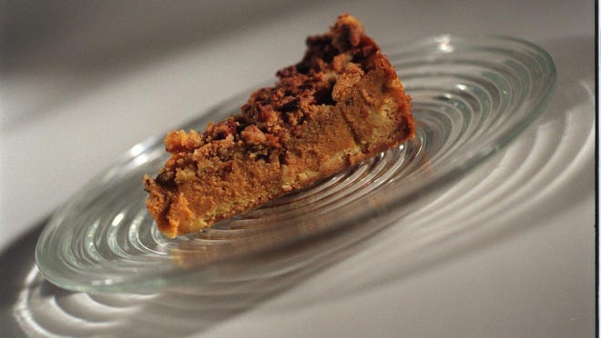 If you want to skip making a pie crust, try Pumpkin Pie Crumble Cake. It has all the flavors of pumpkin pie and then some.