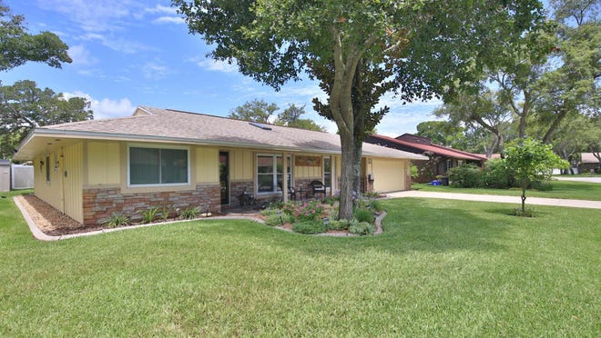 This meticulously maintained three-bedroom, two-bath home is located in the heart of the Northbrook subdivision.