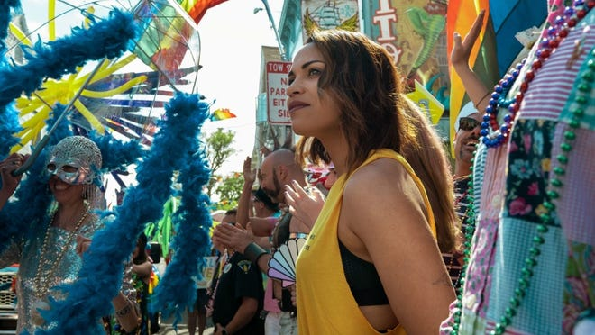 """Monica Raymund stars in the Starz series """"Hightown,"""" which is set (and partly filmed) in Provincetown and around Cape Cod."""