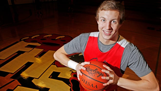 Luke Kennard was a two-time Ohio Mr. Basketball at Franklin high school, and ranks second in Ohio high school basketball history in career points.