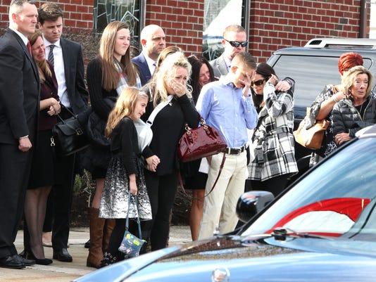 LEAD Frank Farina funeral