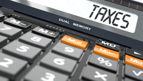 A stock image of a calculator.