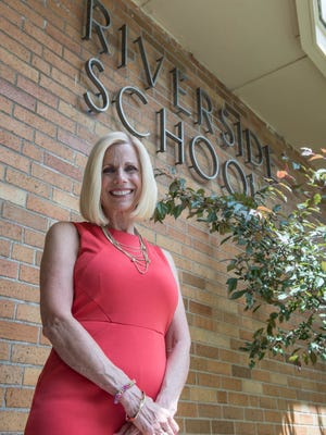 Denise Myers, long-time principal at Riverside Elementary, is retiring this year.