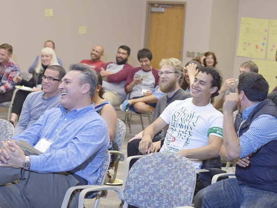 Participants at the 2014 Startup Weekend Las Cruces