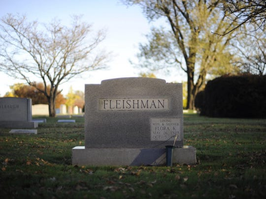 13-year-old Gregory Witman is buried next to his grandmother, Flora Fleishman, at Druid Ridge Cemetery in Pikesville, Md. Witman does not have an engraving in the headstone.