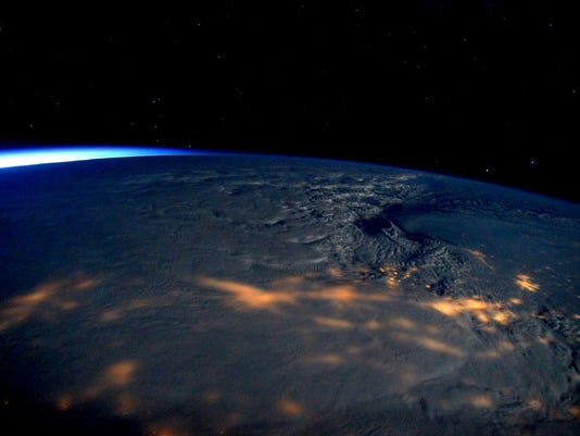 Blizzard from space