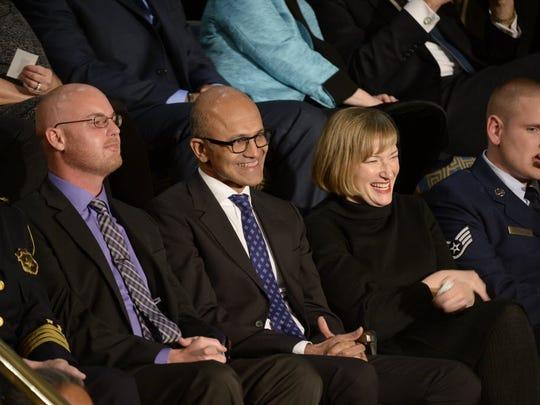Microsoft CEO Satya Nadella has helped keep his company