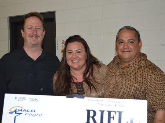 Mark Calhoun, Lara Bell and Leo Rios