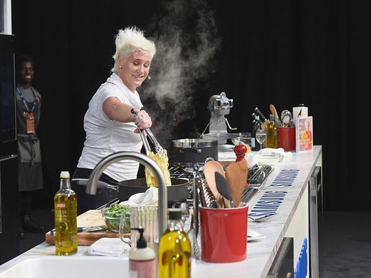 Food Network star Anne Burrell will be hosting the 20th annual Celebrity Chefs' Brunch on April 30 at the DuPont Country Club.