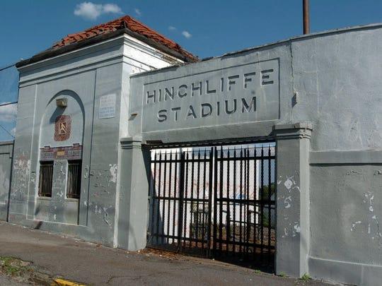 Historic Hinchliffe Stadium in Paterson.