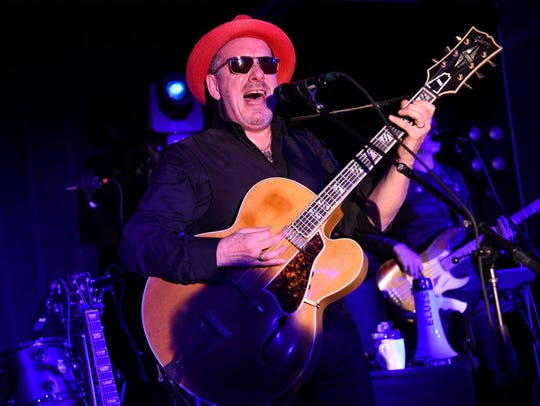 Eclectic rocker Elvis Costello brings his band the