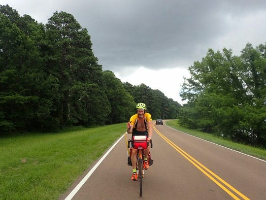 Bill Conner embarks on a more than 2,500-mile journey,