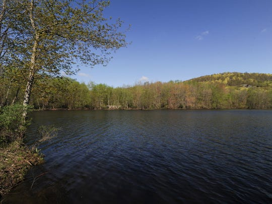 Lake Henry at the Ramapo Reservation.