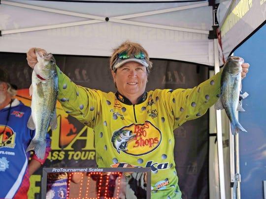 Lady Bass Anglers Association Classic champion Cheryl
