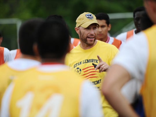 Clifton coach Stan Lembryk has a strong team that's looking to win another Passaic County title.
