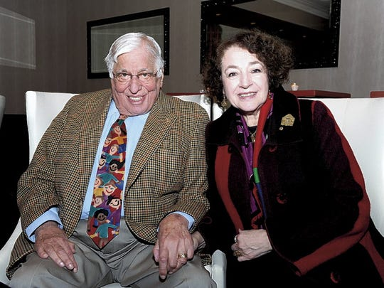 Dr. Arnold Gold and his wife, Sandra, at a 2006 event