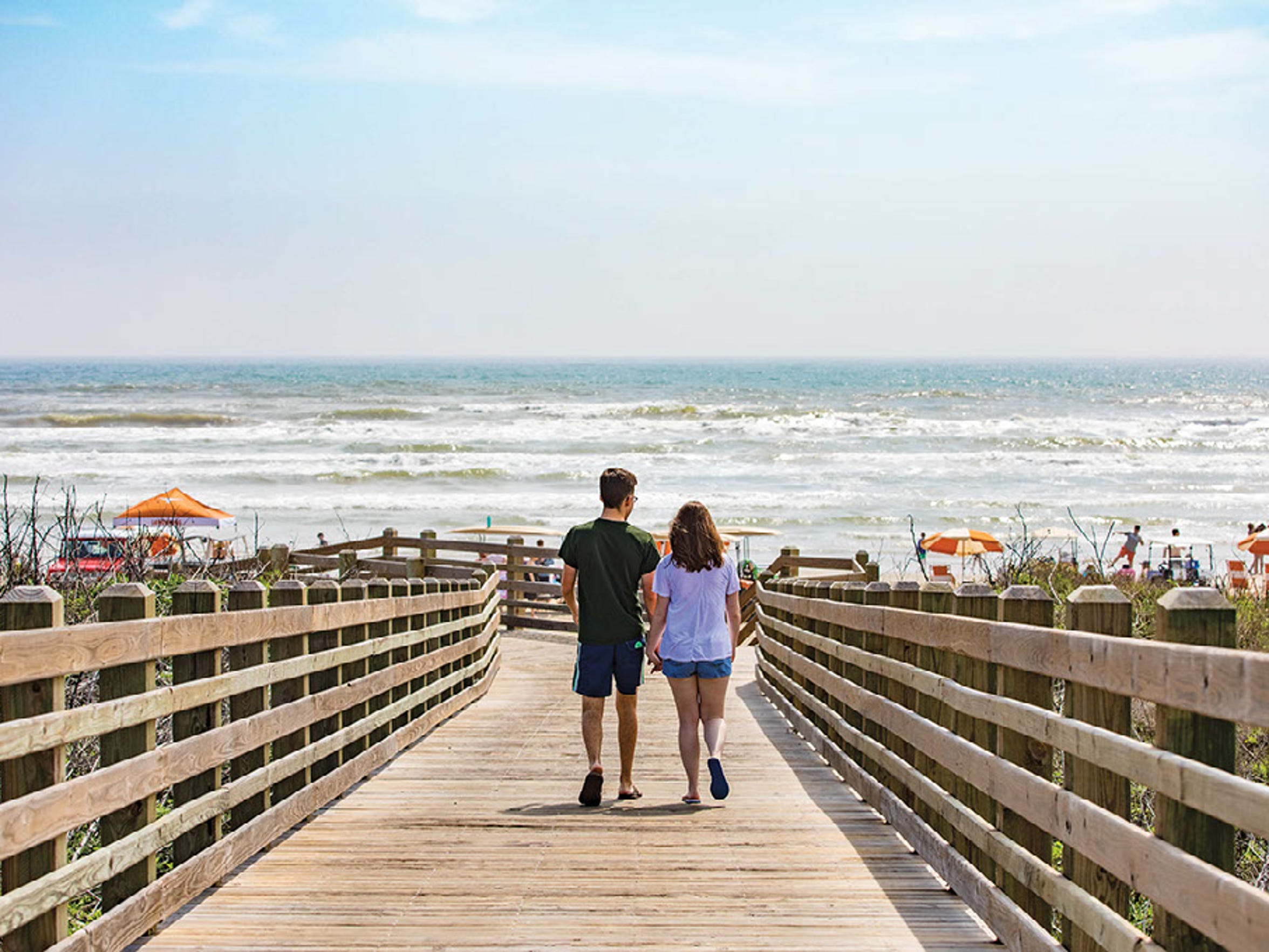 Take a trip to the beaches of Port Aransas during spring break.