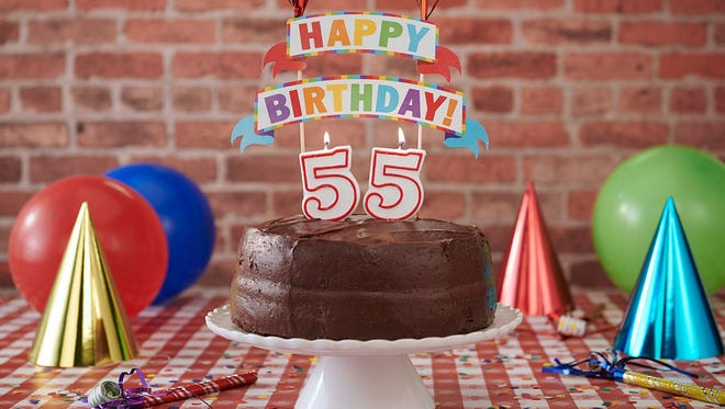 Portillo's is having a special on its chocolate cake to celebrate its 55th birthday.