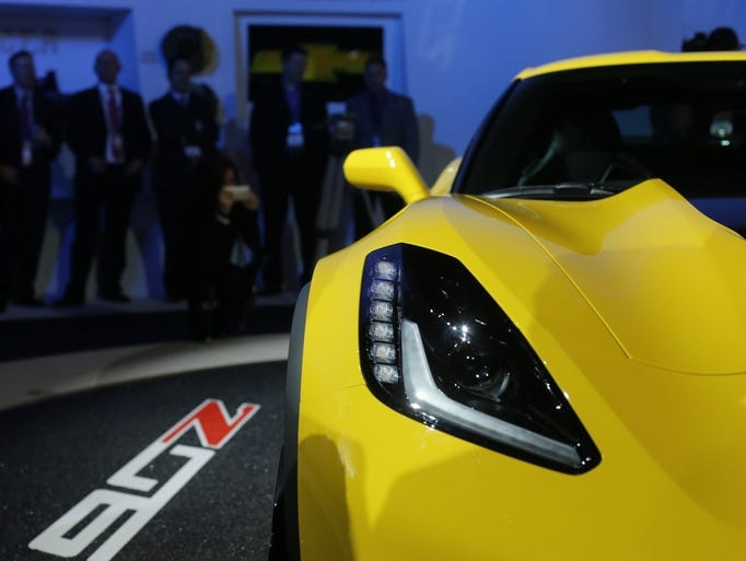 <p>The North American International Auto Show began with the Chevy Silverado and Corvette winning North American Car and Truck of the year, then heated up through unveilings of cars as diverse as the next Honda Fit, Hyundai Genesis, VW Beetle Dune Concept and Chevrolet Corvette Z06 (pictured). Here's a roundup of vehicular highlights.</p>