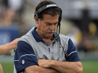 The Rams fired head coach Jeff Fisher on Monday.
