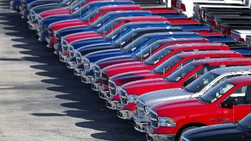 Automakers report June sales on Friday and they are expected to be at or near a record annual pace of 17.1 million.