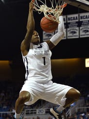 Marqueze Coleman is one of 17 Wolf Pack alums playing overseas.