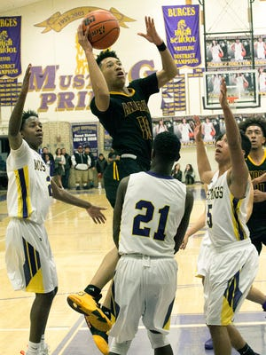 Andress defeated Burges earlier this month. The Eagles are ranked No. 15 in the state.