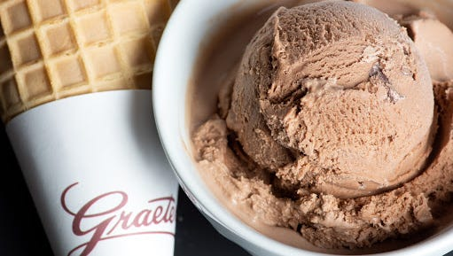 Graeter's Ice Cream introduces its third of seven 'Bonus Flavors,' Caramelized Chocolate Truffle.