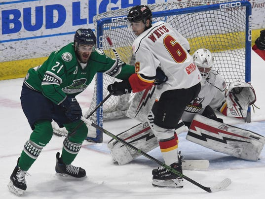 Eastern Conference Finals Game 4 - Florida Everblades at Adirondack Thunder