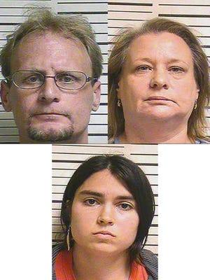 Patrick Aaron Braddock, 35, Pamela Diane Davis, 60, Brittany Kay Braddock, 26,