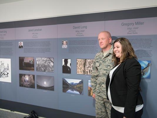 Pentagon Healing Arts Exhibit Opening