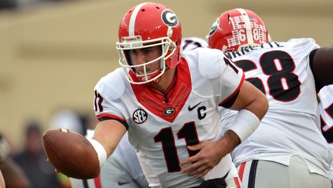 Georgia quarterback Aaron Murray graduated in three years with a degree in psychology. He is one of 16 NFF Scholar-Athlete Award winners announced Tuesday.