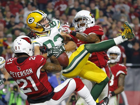 016 NFC Divisional Playoff Game Cardinals vs. Packers