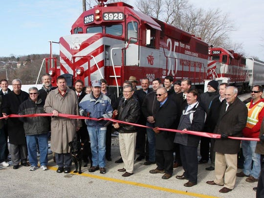 Local dignitaries recently cut a ribbon to commemorate